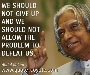 Abdul Kalam Quotes Quote Coyote