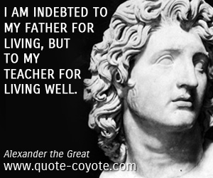alexander the great father
