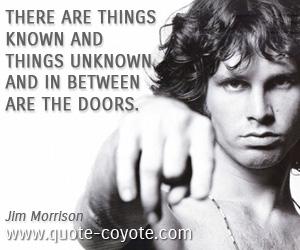 Jim Morrison The Doors Album Cover the doors     Jim Morrison